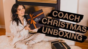 Coach Christmas Unboxing