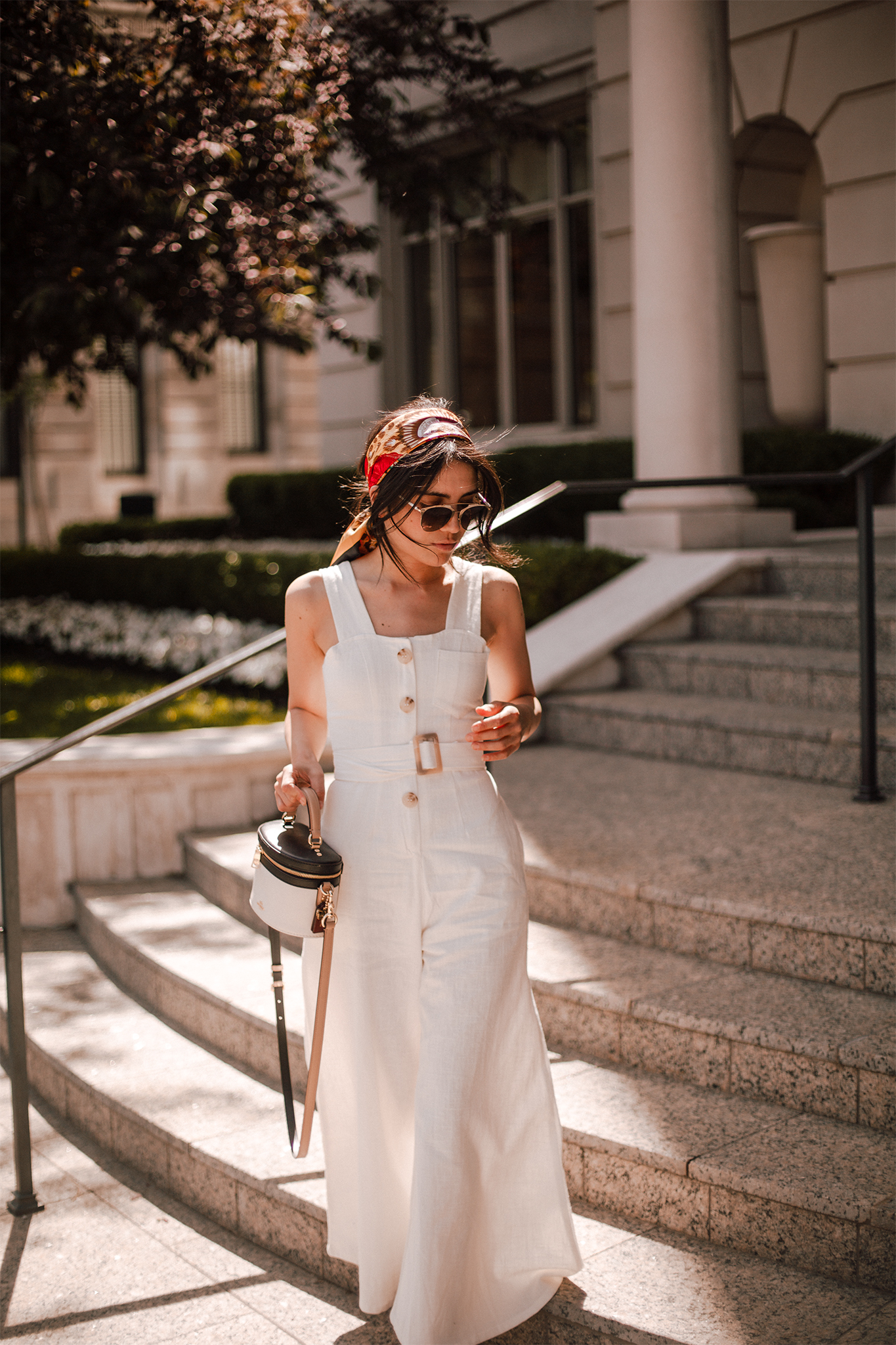 My favourite linen jumpsuit for Summer and how to wear it