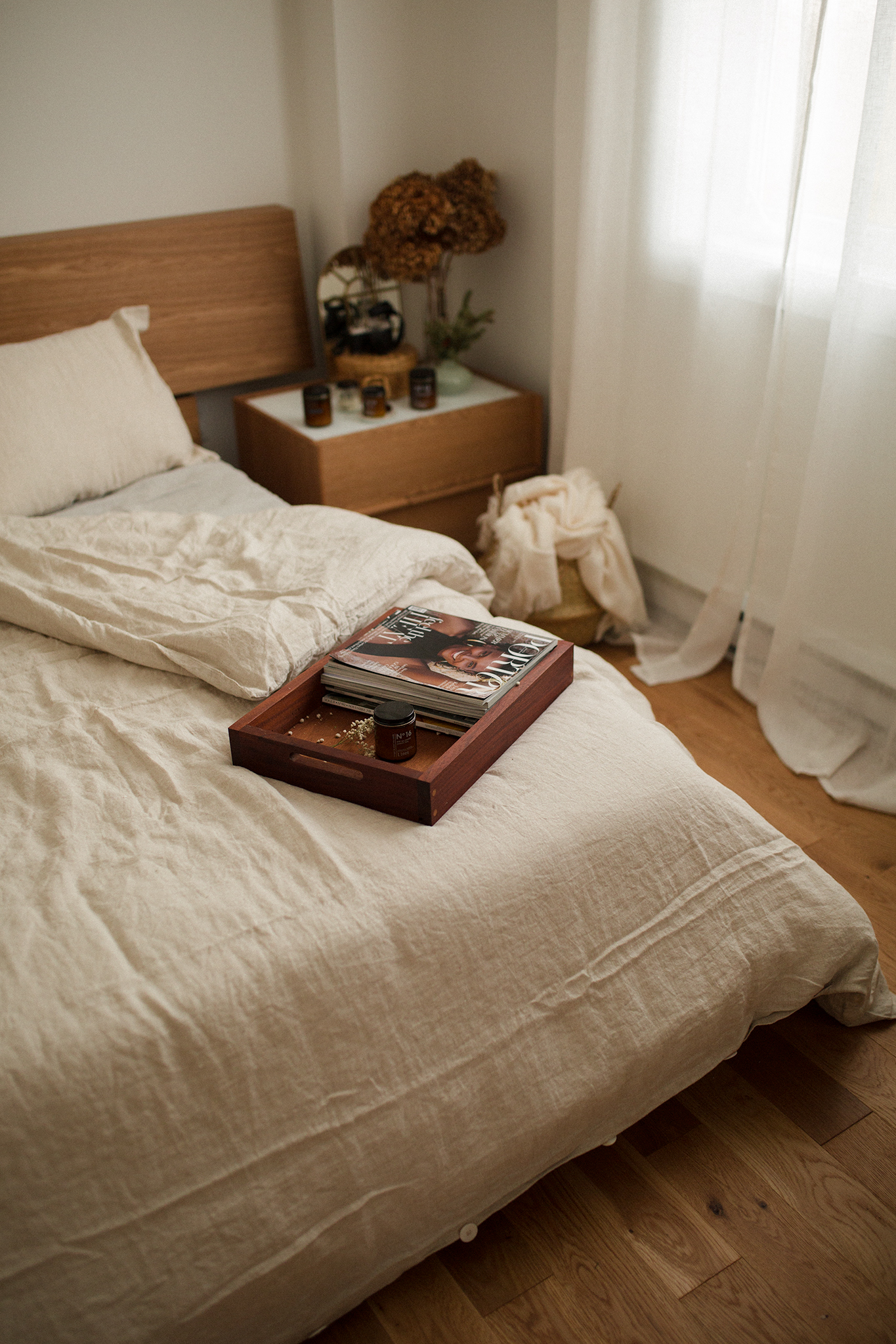 The benefits of flax linen bedding